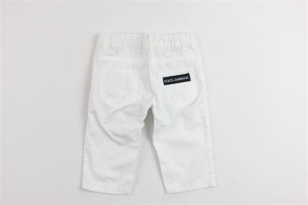 DOLCE & GABBANA | Trousers | L11F25LY033BIANCO