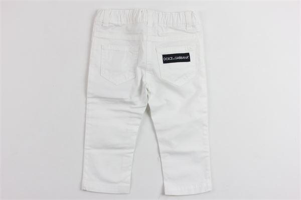 DOLCE & GABBANA | Trousers | L21F02LY035BIANCO