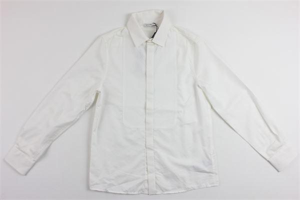 DOLCE & GABBANA | Shirts | L41S57FUM4GBIANCO