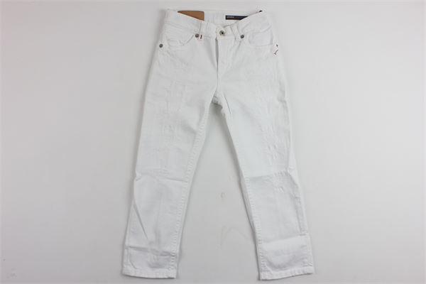 DONDUP | Trousers | DMPA204021BBIANCO
