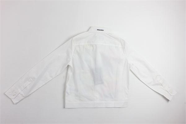 DSQUARED | Shirts | 9554BIANCO