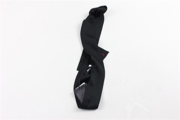 cravatta tinta unita DSQUARED | Cravatte | 9782NERO