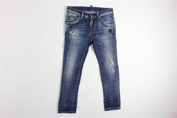 jeans 5 tasche con strappi DSQUARED | Jeans | D00HBBLU