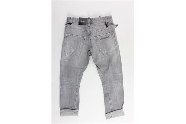 DSQUARED | Trousers | DQ02VDGRIGIO