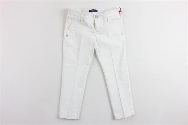 pantalone tasca america tinta unita ENTRE AMIS | Pantaloni | P167188238L17BIANCO