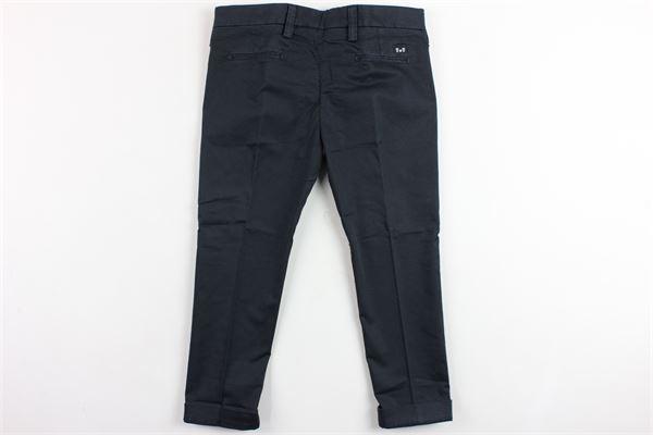 pantalone tasca america tinta unita ENTRE AMIS | Pantaloni | P167188238L17BLU
