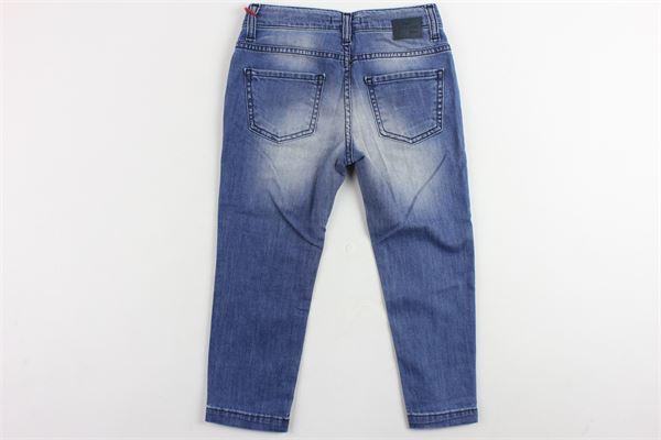jeans tinta unita 5 tasche ENTRE AMIS | Jeans | P177177BLU
