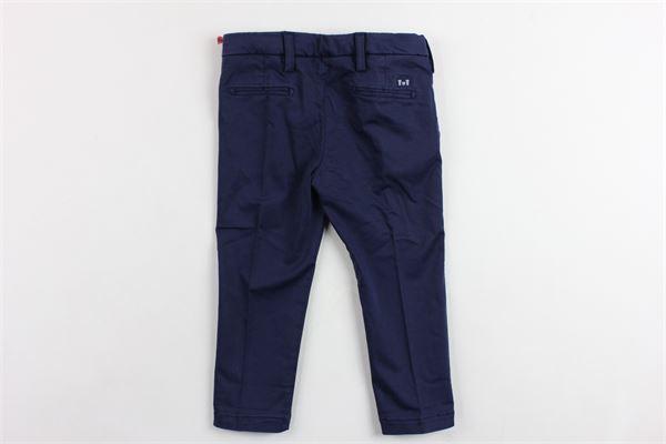 pantalone tasca america tinta unita ENTRE AMIS | Pantaloni | P177188238L17BLU