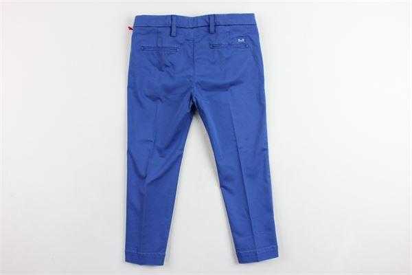 pantalone tasca america tinta unita ENTRE AMIS | Pantaloni | P177188238L17COBALTO