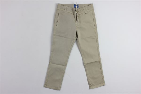 pantalone tasca america tinta unita FAY | Pantaloni | 906280112BEIGE
