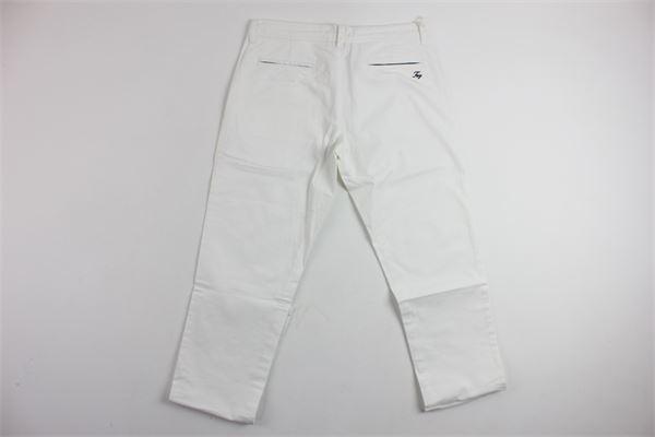 pantalone tinta unita tasca america stampa fay FAY | Pantaloni | 9A6010100BIANCO