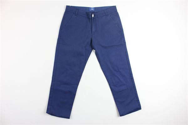 pantalone tasca america tinta unita FAY | Pantaloni | 9C6040BLU