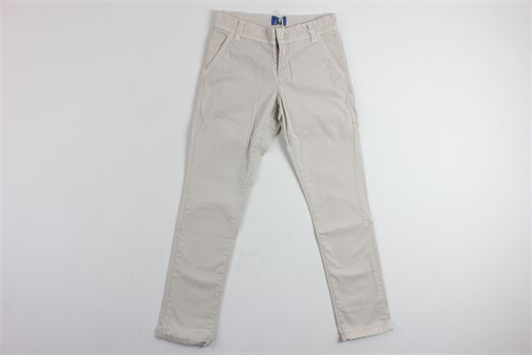 pantalone tasca america tinta unita FAY | Pantaloni | 9C6060BEIGE