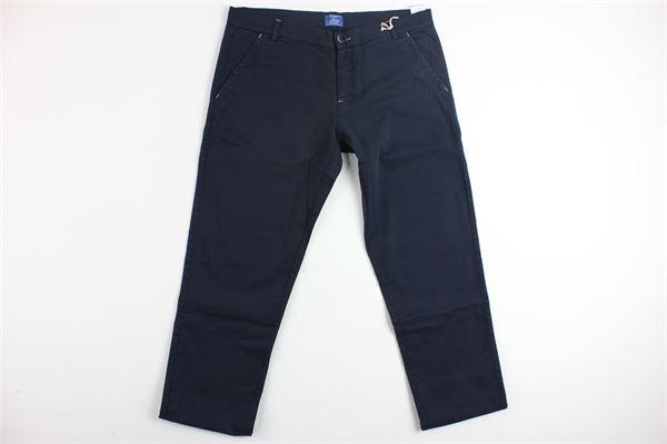 pantalone tasca america tinta unita FAY | Pantaloni | 9F6020620BLU