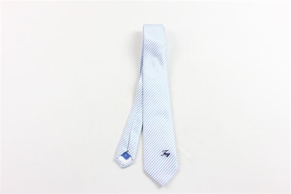 cravatta rigata FAY | Cravatte | CRAVATTAFAYBIANCO