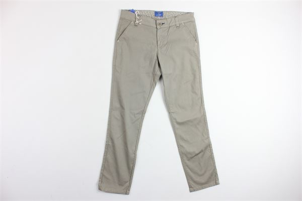pantalone tasca america tinta unita FAY | Pantaloni | NUH8134726C401BEIGE