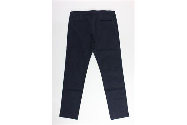 pantalone tinta unita tasca america FAY | Pantaloni | NUI8037731TBLU