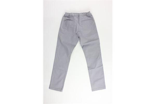 pantalone tinta unita tasca america FAY | Pantaloni | NUI8037731TGRIGIO