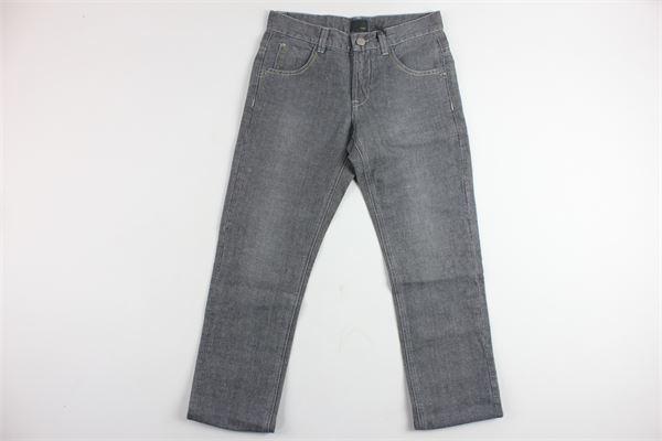 jeans 5 tasche tinta unita FENDI | Jeans | U46790U2510621GRIGIO