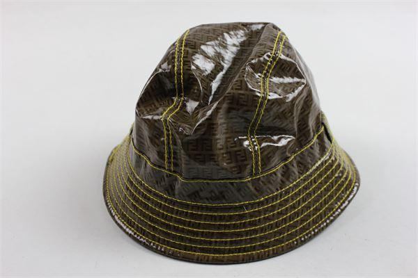 cappello microfantasia fendi FENDI | Cappelli | V40447V4355116MARRONE