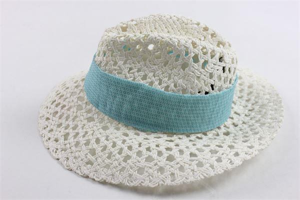 cappello traforato con fiocco FENDI | Cappelli | W40477W9080102BEIGE