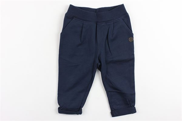 pantalone tinta unita in felpa FRED MELLO | Pantaloni | 013594BLU