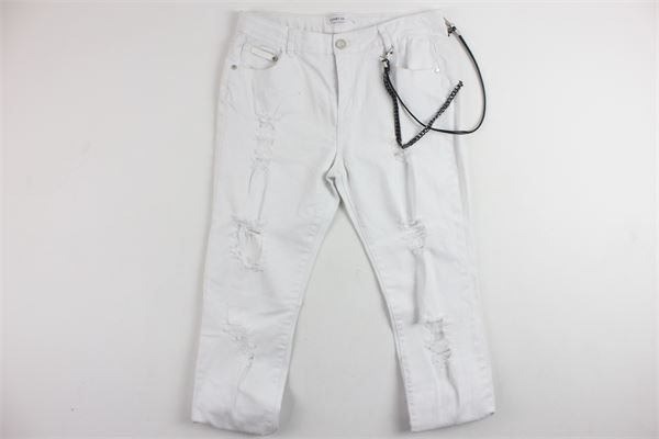 FUN & FUN | Trousers | FNJPT3860BIANCO