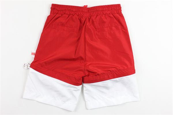 costume bicolore elastico in vita GCDS | Costumi | 019501ROSSO