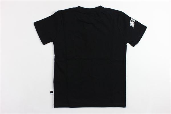 t-shirt tinta unita con applicazioni GCDS | T-shirts | 019506NERO