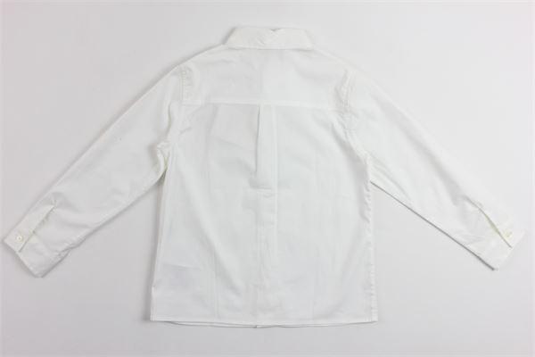 camicia manica lunga tinta unita GUCCI | Camicie | BA4430284BIANCO