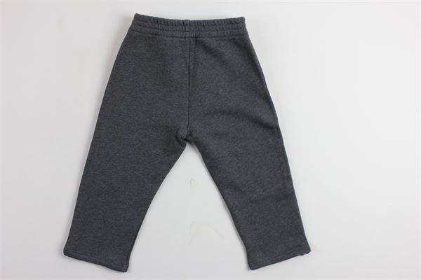 pantalone in felpa profili in contrasto GUCCI | Pantaloni | BMR4757691173GRIGIO