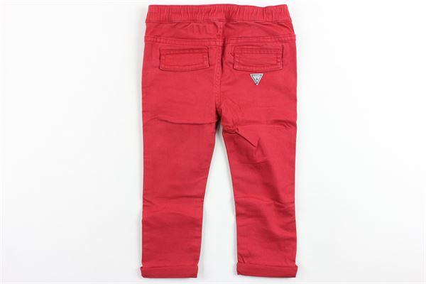 GUESS | Trousers | I81B01W9MU0ROSSO