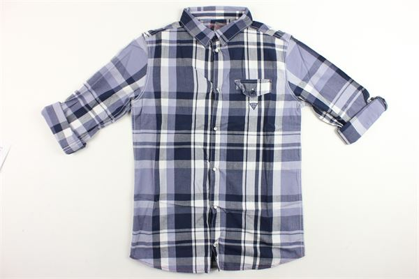 GUESS | Shirts | L74H14W9CR0BLU