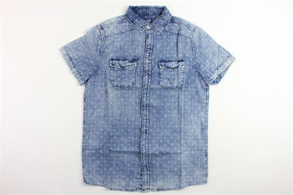 GUESS | Shirts | L82H14W9YW0-BHVIBLU