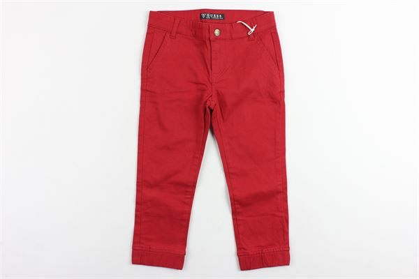 GUESS | Trousers | N81B01WMU0ROSSO