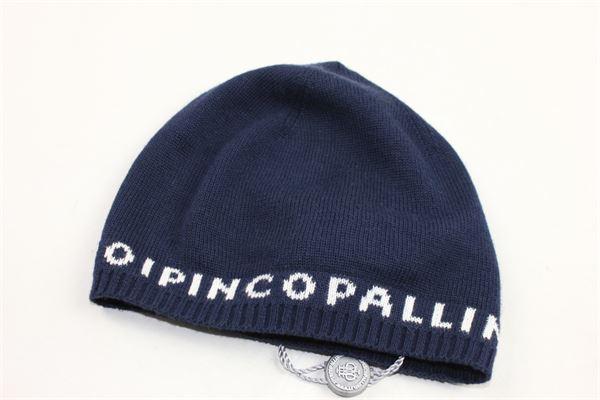 cappello in cotone tinta unita con stampa I PINCO PALLINO | Cappelli | 01152152BLBLU