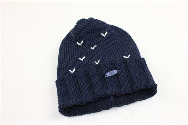 cappello in filo con profili in ricamo I PINCO PALLINO | Cappelli | 641101640709BLU