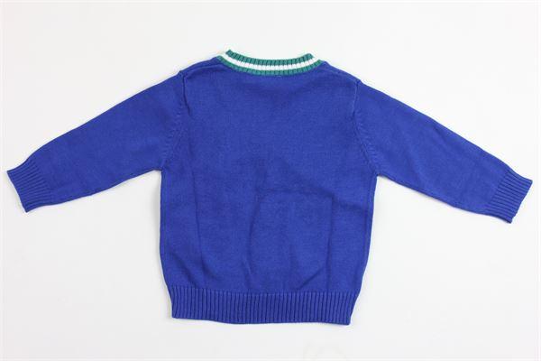 cardigan manica lunga tricot IL GUFO | Maglie | JF274EM2004755COBALTO