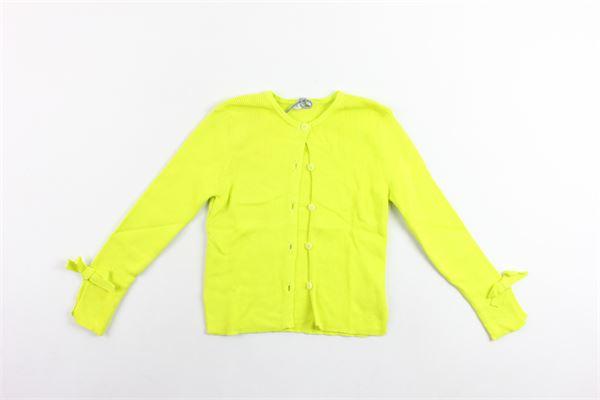 cargigan tricot manica lunga tinta unita IL GUFO   Cardigan   P19GF308EM600VERDE