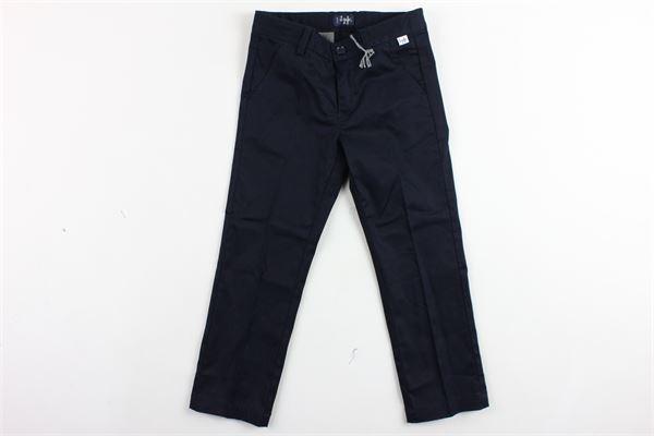 pantalone tinta unita tasca america girovita regolabile IL GUFO | Pantaloni | P19PL088C0006BLU