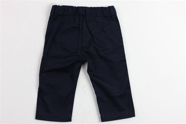 pantalone tinta unita tasca america IL GUFO | Pantaloni | PL083C0006495BLU