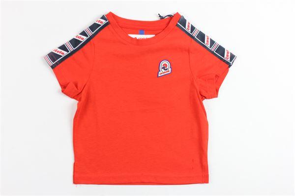 t-shirt mezza manica tinta unita  profili stampa invicta INVICTA | T-shirts | 4451152/BROSSO