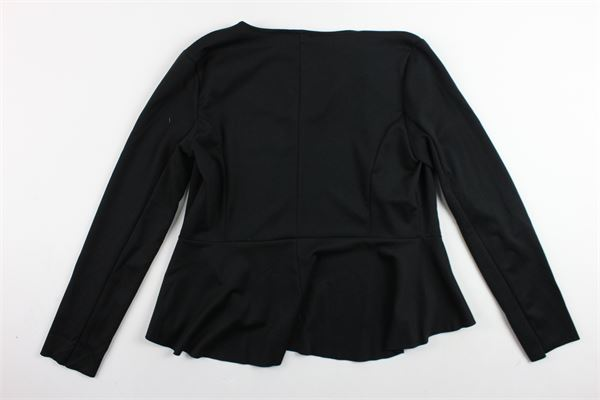 giacca manica lunga tinta unita avvitata J'AIME' | Giacche | 802MGCNERO