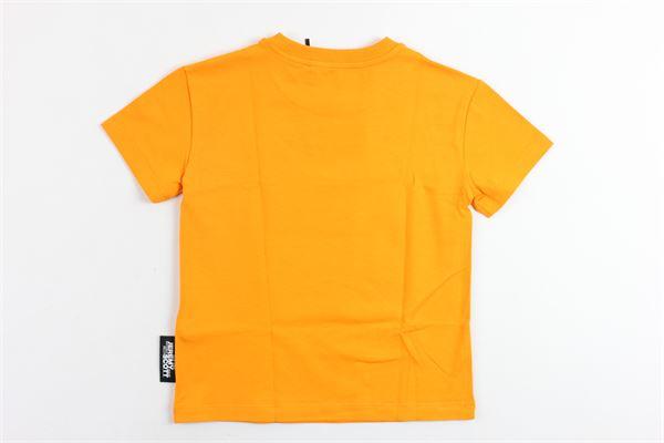 t-shirt mezza manica tinta unita con stampa JEREMY SCOTT | T-shirts | J5M002ARANCIONE