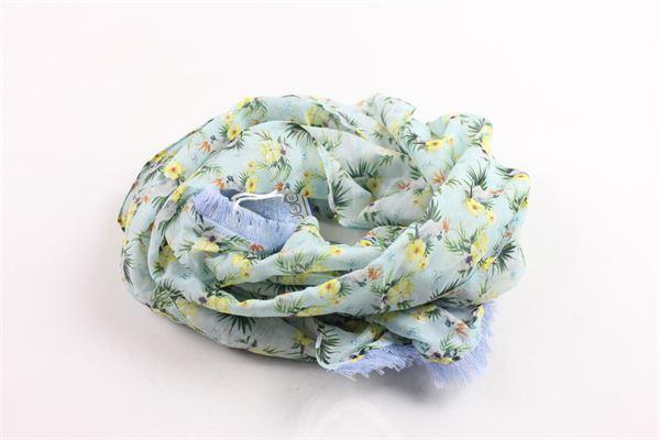 foulard stampa fantasia JOHN TWING   Foulards   JT0593A2030VERDE
