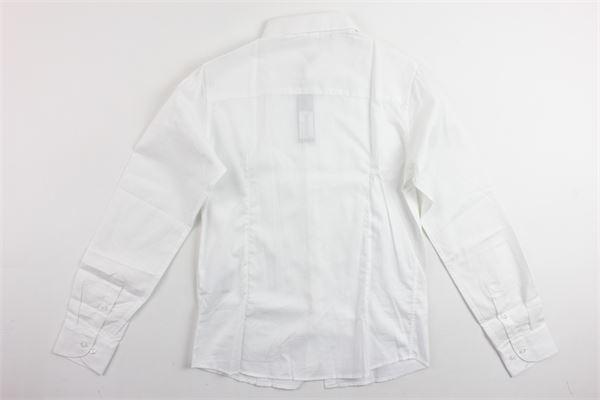 camicia tinta unita manica lunga microfantasia JOHN TWING | Camicie | JT9206BIANCO