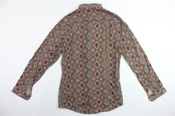 JON FERRETTO.ONE | Shirts | CAMICIAJONFERRETTO4MARRONE