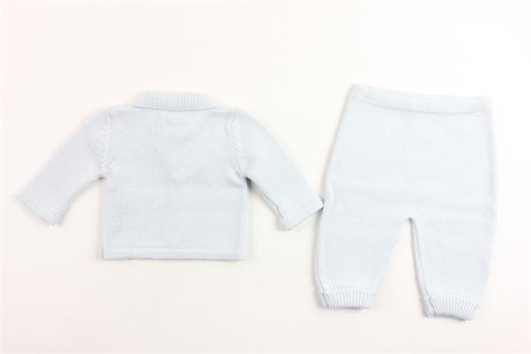 completo in lana cardigan + pantaloncino LE GUIGNOL | Completi | CR0072AZZURRO