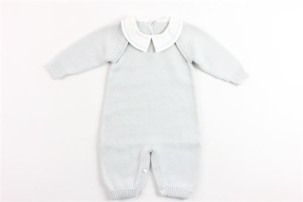 tutina in lana con collo camicia LE GUIGNOL | Tutine | CR0074AZZURRO