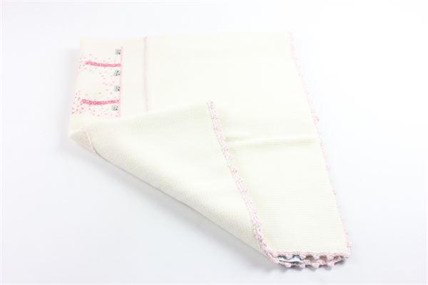 coperta nascita in lana con stampa LE GUIGNOL | Coperte | CR0100PANNA